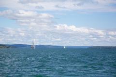 Sailboats on Lake Charlevoix