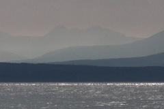 panoramic view of Gulf Islands