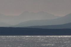 panoramic view of Gulf Islands